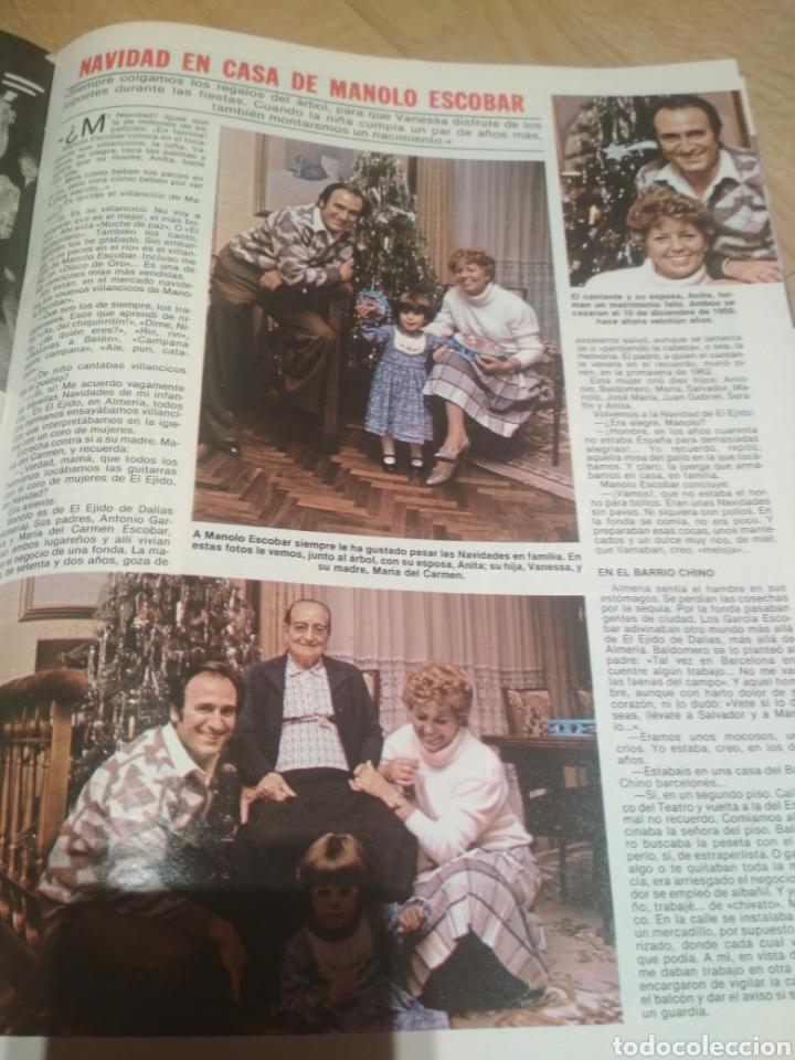 Coleccionismo de Revistas: Revista Lecturas de 1981 Manolo Escobar grupo Parchís Ana Belen - Foto 3 - 215680306