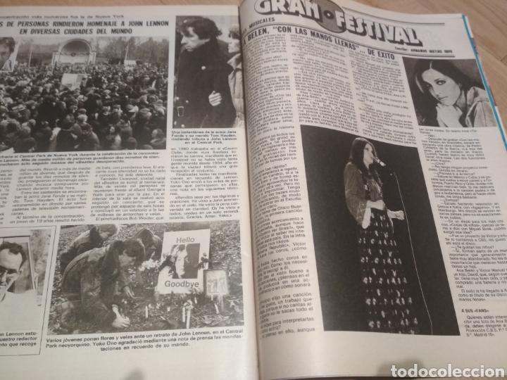 Coleccionismo de Revistas: Revista Lecturas de 1981 Manolo Escobar grupo Parchís Ana Belen - Foto 6 - 215680306