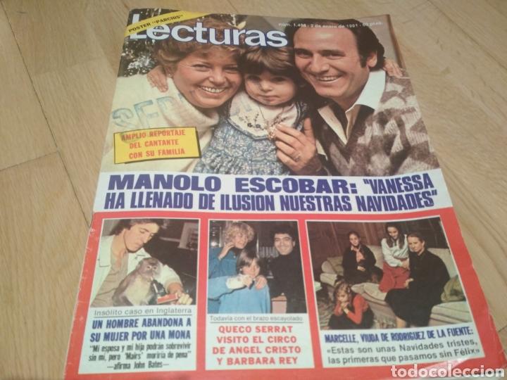 REVISTA LECTURAS DE 1981 MANOLO ESCOBAR GRUPO PARCHÍS ANA BELEN (Coleccionismo - Revistas y Periódicos Modernos (a partir de 1.940) - Revista Lecturas)