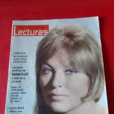 Coleccionismo de Revistas: ANTIGUA REVISTA LECTURAS N? 567 AÑO 1963. Lote 216491205