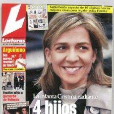 Collectionnisme de Magazines: LECTURAS - Nº 2752 - 24 DICIEMBRE 2004 - REVISTA. Lote 217311817