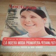 Coleccionismo de Revistas: REVISTA LECTURAS 1971 CAROLINA DE MONACO. Lote 217394848