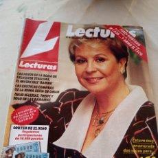 Coleccionismo de Revistas: **REVISTA LECTURAS, -- LOS SECRETOS DE LINA MORGAN -- 31 DICIEMBRE 1985**. Lote 217455435