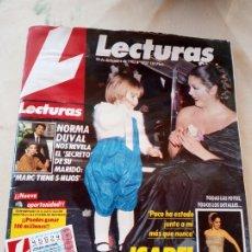 Coleccionismo de Revistas: **REVISTA LECTURAS, -- ISABEL PANTOJA VOLVIO Y EMOCIONO -- 20 DICIEMBRE 1985**. Lote 217455801