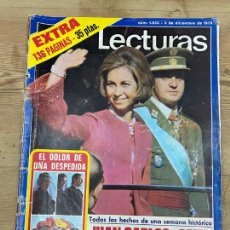 """Coleccionismo de Revistas: REVISTA """"LECTURAS"""" - Nº 1.233 - 5 DE DICIEMBRE DE 1975. Lote 217882358"""