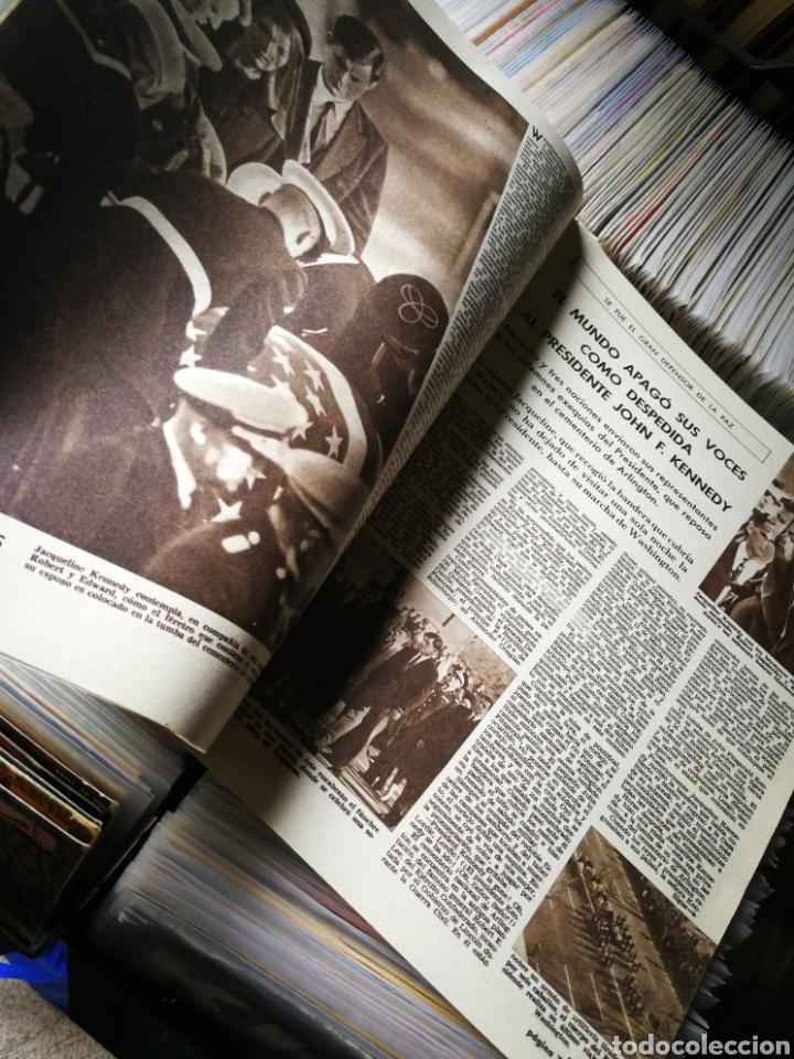 Coleccionismo de Revistas: REVISTA LECTURAS- JACKIE YA NO SONRÍE (LA MUERTE DEL PRESIDENTE KENNEDY), N°607,1963. - Foto 2 - 218094620