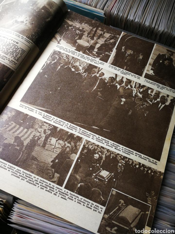 Coleccionismo de Revistas: REVISTA LECTURAS- JACKIE YA NO SONRÍE (LA MUERTE DEL PRESIDENTE KENNEDY), N°607,1963. - Foto 3 - 218094620