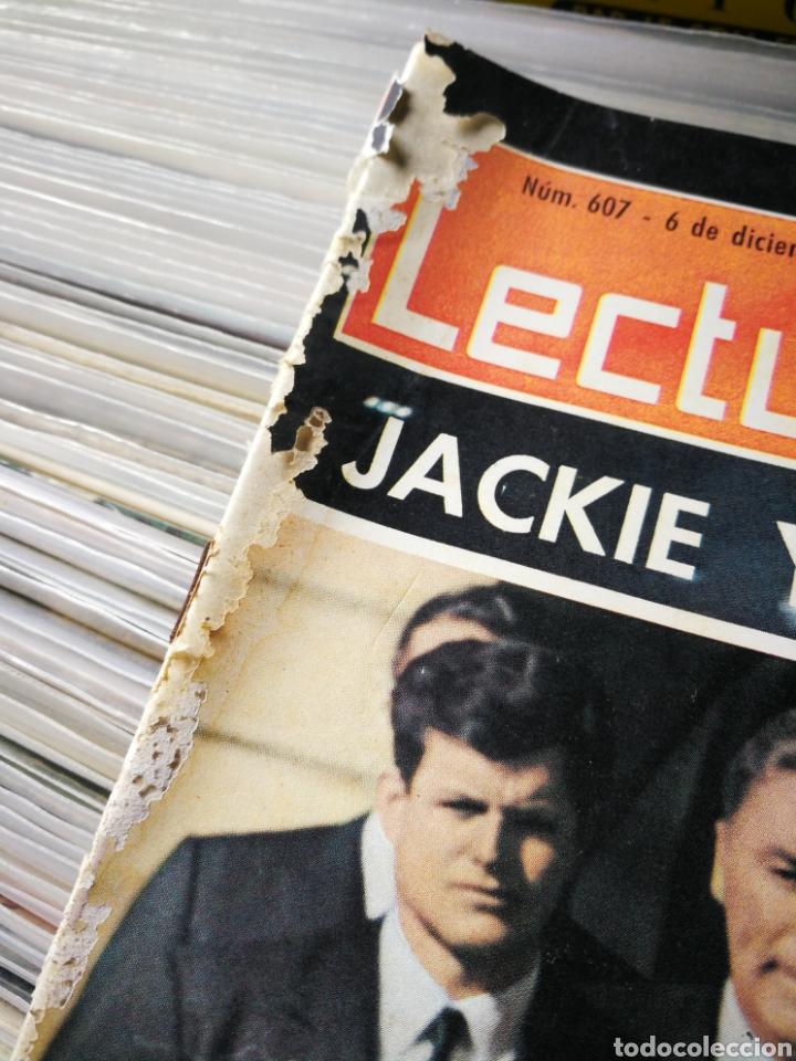 Coleccionismo de Revistas: REVISTA LECTURAS- JACKIE YA NO SONRÍE (LA MUERTE DEL PRESIDENTE KENNEDY), N°607,1963. - Foto 4 - 218094620