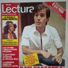 Coleccionismo de Revistas: LECTURAS N°1631 - SARA MONTIEL - ESTRELLITA CASTRO - RAFI ESCOBEDO. Lote 218353875