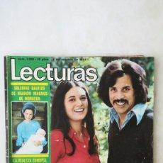 Coleccionismo de Revistas: REVISTA LECTURAS, AÑO 1973, POSTER SARA MONTIEL, TERESA RABAL BODA, ELVIS PRESLEY, MARISOL. ETC. Lote 218500208