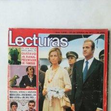 Coleccionismo de Revistas: REVISTA LECTURAS AÑO 1976, LOS MÁS LISTOS DE UN DOS TRES, POSTER BILL BIXBY EL MAGO. Lote 218501075