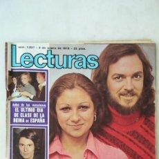 Coleccionismo de Revistas: REVISTA LECTURAS AÑO 1976, CAMILO SESTO Y LOLITA, LA HEIDI ESPAÑOLA, BALLET ZOOM, ETC.. Lote 218501910