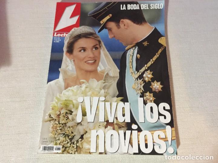 REVISTA LECTURAS ESPECIAL BODA LETICIA Y FELIPE VI Nº 2723 JUNIO 2004 386 PAGINAS (Coleccionismo - Revistas y Periódicos Modernos (a partir de 1.940) - Revista Lecturas)