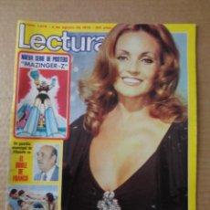 Coleccionismo de Revistas: POSTER MAZINGER Z Nº1 - ENTREVISTA CON SU CREADOR - PRIMERA APARICION EN LECTURAS - 4 AGOSTO 1978. Lote 221644645