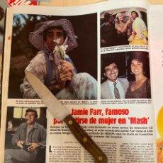 Coleccionismo de Revistas: RECORTE REVISTA LECTURAS Nº1667 AÑO 1984 / JAMIE FARR. Lote 221696728