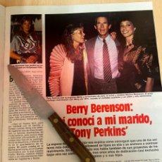 Coleccionismo de Revistas: RECORTE REVISTA LECTURAS Nº1667 AÑO 1984 / BERRY BERENSON. Lote 221697145