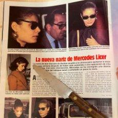 Coleccionismo de Revistas: RECORTE REVISTA LECTURAS Nº1667 AÑO 1984 / MERCEDES LICER. Lote 221697545