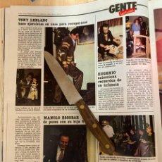 Coleccionismo de Revistas: RECORTE REVISTA LECTURAS Nº1667 AÑO 1984 / GENTE ANGEL CRISTO / JANE FONDA / EVA NASARRE / M ESCOBAR. Lote 221697852