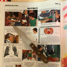 Coleccionismo de Revistas: RECORTE REVISTA LECTURAS Nº1667 AÑO 1984 / MEDICINA PARA TODOS Nº33 RAYOS X. Lote 221698275
