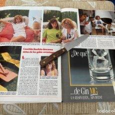 Coleccionismo de Revistas: RECORTE REVISTA LECTURAS Nº1946 AÑO 1989 / CONCHITA BAUTISTA. Lote 221918883