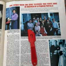Coleccionismo de Revistas: RECORTE REVISTA LECTURAS Nº1552 / 1982 / JANE WYMAN FALCON CREST. Lote 222286665
