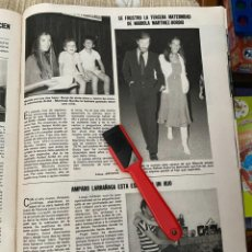 Coleccionismo de Revistas: RECORTE REVISTA LECTURAS Nº1552 / 1982 / AMPARO LARRAÑAGA / MARIOLA MARTINEZ BORDIU / FRANCISCO. Lote 222286953