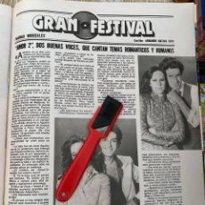 Coleccionismo de Revistas: RECORTE REVISTA LECTURAS Nº1552 / 1982 / AMOR 2 / JUKE BOX REVIVAL / THE PLATERS. Lote 222287063