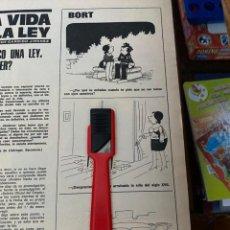 Coleccionismo de Revistas: RECORTE REVISTA LECTURAS Nº1320 / 1977 / BORT. Lote 222287465