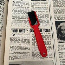 Coleccionismo de Revistas: RECORTE REVISTA LECTURAS Nº1320 / 1977 / VINO TINTO. Lote 222287570
