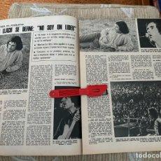 Coleccionismo de Revistas: RECORTE REVISTA LECTURAS Nº1320 / 1977 / LLUIS LLACH. Lote 222288022