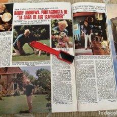 Coleccionismo de Revistas: RECORTE REVISTA LECTURAS Nº1320 / 1977 / HARRY ANDREWS / ISABEL TENAILLE. Lote 222288100