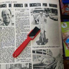 Coleccionismo de Revistas: RECORTE REVISTA LECTURAS Nº1320 / 1977 / ANGEL DE ANDRES. Lote 222288183