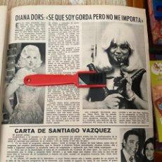 Coleccionismo de Revistas: RECORTE REVISTA LECTURAS Nº1320 / 1977 / DIANA DORS. Lote 222288201