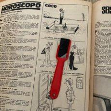 Coleccionismo de Revistas: RECORTE REVISTA LECTURAS Nº1320 / 1977 / TIRA COMICA COCO. Lote 222288381