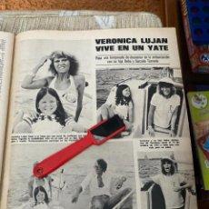 Coleccionismo de Revistas: RECORTE REVISTA LECTURAS Nº1320 / 1977 / VERONICA LUJAN. Lote 222288451