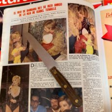 Collectionnisme de Magazines: RECORTE REVISTA LECTURAS Nº1551 / 1982 / BARBARA REY. Lote 222899700