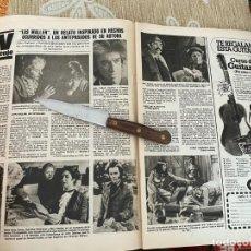 Coleccionismo de Revistas: RECORTE REVISTA LECTURAS Nº1494 / 1980 / LOS MALLEN / PACO GANDIA / FOFITO / ISABEL BORONDO. Lote 222920820