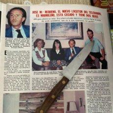 Coleccionismo de Revistas: RECORTE REVISTA LECTURAS Nº1494 / 1980 / JOSE MARIA REQUENA. Lote 222921213
