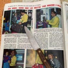 Coleccionismo de Revistas: RECORTE REVISTA LECTURAS Nº1494 / 1980 / JUAN MANUEL ASENSI. Lote 222921966