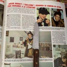 Coleccionismo de Revistas: RECORTE REVISTA LECTURAS Nº1494 / 1980 / ADRIAN DANNATT / LAS AVENTURAS DE GUILLERMO. Lote 222923228