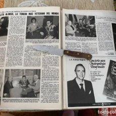 Coleccionismo de Revistas: RECORTE REVISTA LECTURAS Nº1494 / 1980 / ANGELITA ALONSO LA TORERA MAS VETERANA DEL MUNDO / MAE WEST. Lote 222924083
