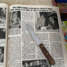 Coleccionismo de Revistas: RECORTE REVISTA LECTURAS Nº1494 / 1980 / ALFONSO SANCHEZ CRITICO CINEMATOGRAFICO. Lote 222924348