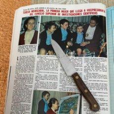 Coleccionismo de Revistas: RECORTE REVISTA LECTURAS Nº1494 / 1980 / TERESA MENDIZABAL. Lote 222925142