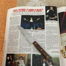 Coleccionismo de Revistas: RECORTE REVISTA LECTURAS Nº1494 / 1980 / LORENZO SANTAMARIA. Lote 222925231