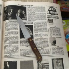 Coleccionismo de Revistas: RECORTE REVISTA LECTURAS Nº1494 / 1980 / STATUS QUO. Lote 222925512
