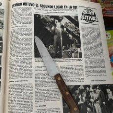 Coleccionismo de Revistas: RECORTE REVISTA LECTURAS Nº1494 / 1980 / DIANGO /. Lote 222925632
