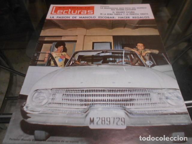 LECTURAS - 6-8-1965 - MARISOL 6F 1P - THE BEATLES 8F 1P (Coleccionismo - Revistas y Periódicos Modernos (a partir de 1.940) - Revista Lecturas)
