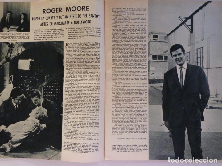 Coleccionismo de Revistas: REVISTA LECTURAS ROGER MOORE MARIA DOLORES GARCIA MAJA DE ESPAÑA 1968 JOSE LUIS OZORES Nº 839 L1 - Foto 2 - 229150465