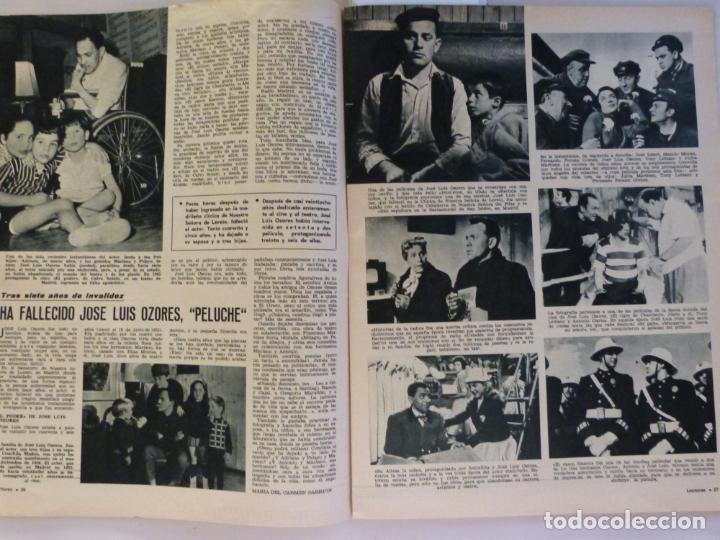 Coleccionismo de Revistas: REVISTA LECTURAS ROGER MOORE MARIA DOLORES GARCIA MAJA DE ESPAÑA 1968 JOSE LUIS OZORES Nº 839 L1 - Foto 5 - 229150465