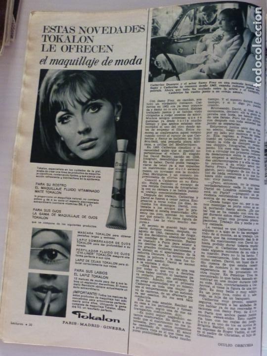 Coleccionismo de Revistas: REVISTA LECTURAS ROGER MOORE MARIA DOLORES GARCIA MAJA DE ESPAÑA 1968 JOSE LUIS OZORES Nº 839 L1 - Foto 6 - 229150465